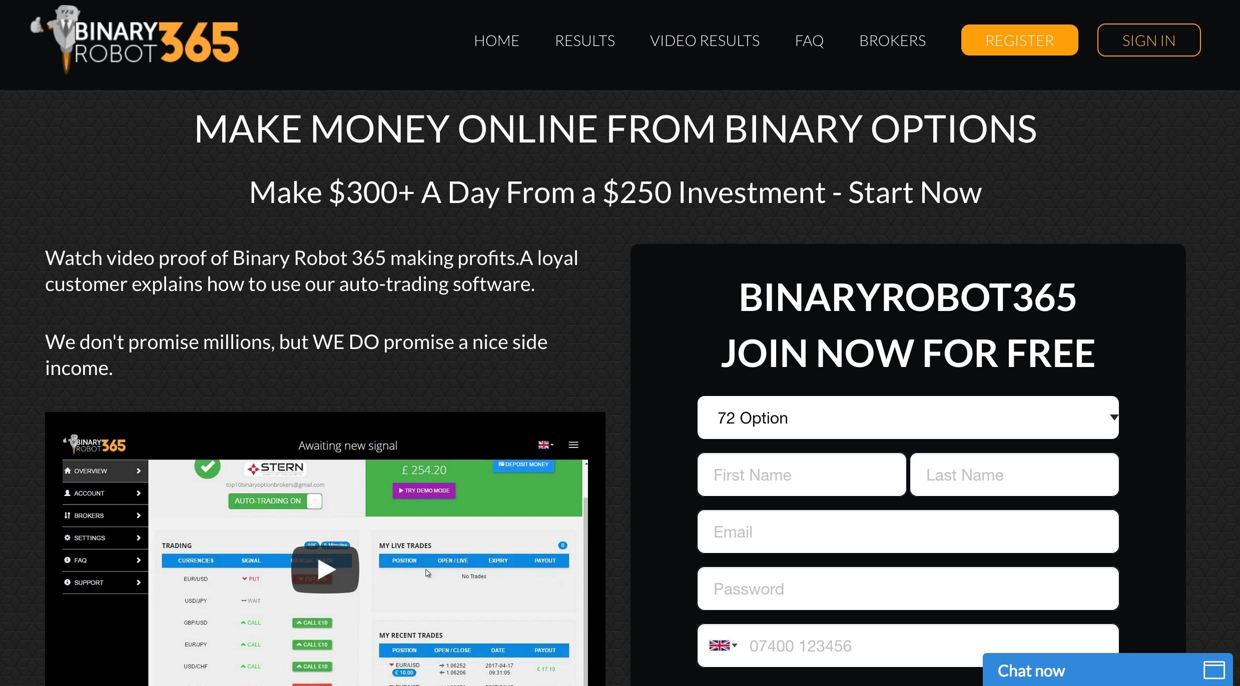 Apa binary options itu