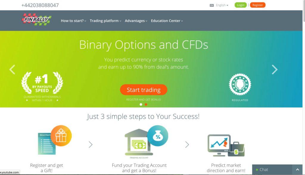 Sitios seguros de comercio binario