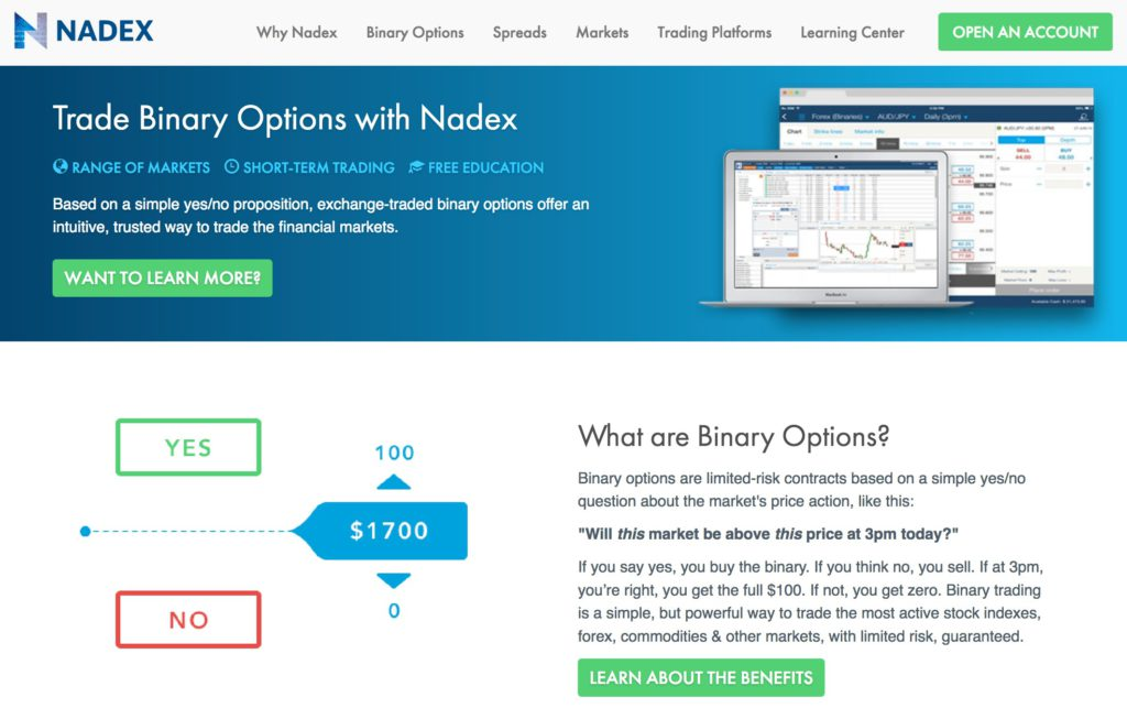 Read Our Review And Trade over 2000 instruments with Nadex!